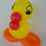 Luftballonfigur Küken