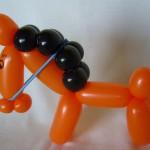 Ballonfigur Pferd