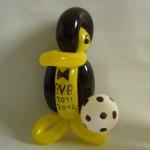 Luftballonfigur Pinguin in BVB Farben