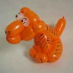 Luftballonfigur Tiger