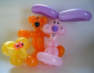 Ballonfiguren vom Ballonkünstler