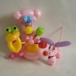 Luftballonfiguren Gruppe