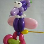 Ballontier Paradiesvogel