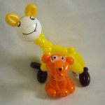 Ballonfiguren Hukulila und Tiger