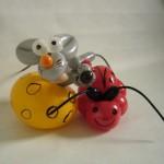 Luftballontiere Mäuse und Kaefer