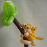 Ballontiere Koala mit Baby