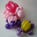 Ballonfiguren Schildkröten