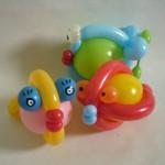 Luftballonfiguren Kugelfische