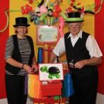 Die Luftballonkünstler Cordula und Rüdiger Paulsen