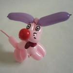 Ballonhund Pink