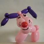 Ballonhund in pink